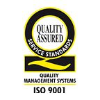 Pickfords is accredited ISO9001