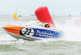 Pickfords powerboat at Gosport