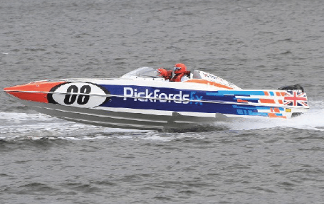 Pickfords powerboat 2017