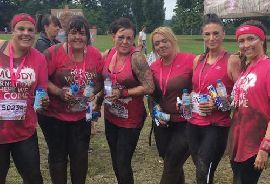 Pickfords Pretty Muddy Cancer Research UK