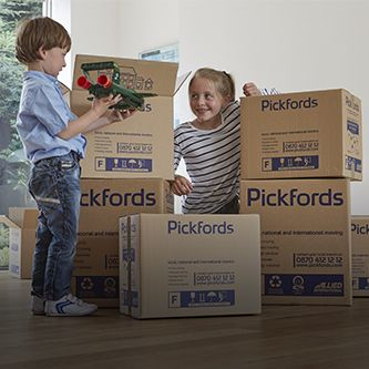 Pickfords local moving