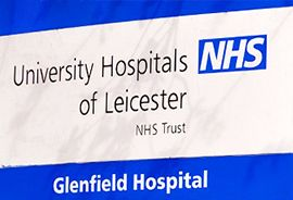 Pickfords relocates Glenfield Hospital