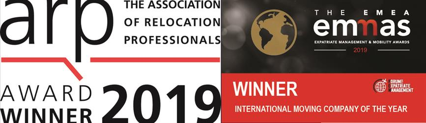 Pickfords Awards = EMMAS and ARP - Best International Removals