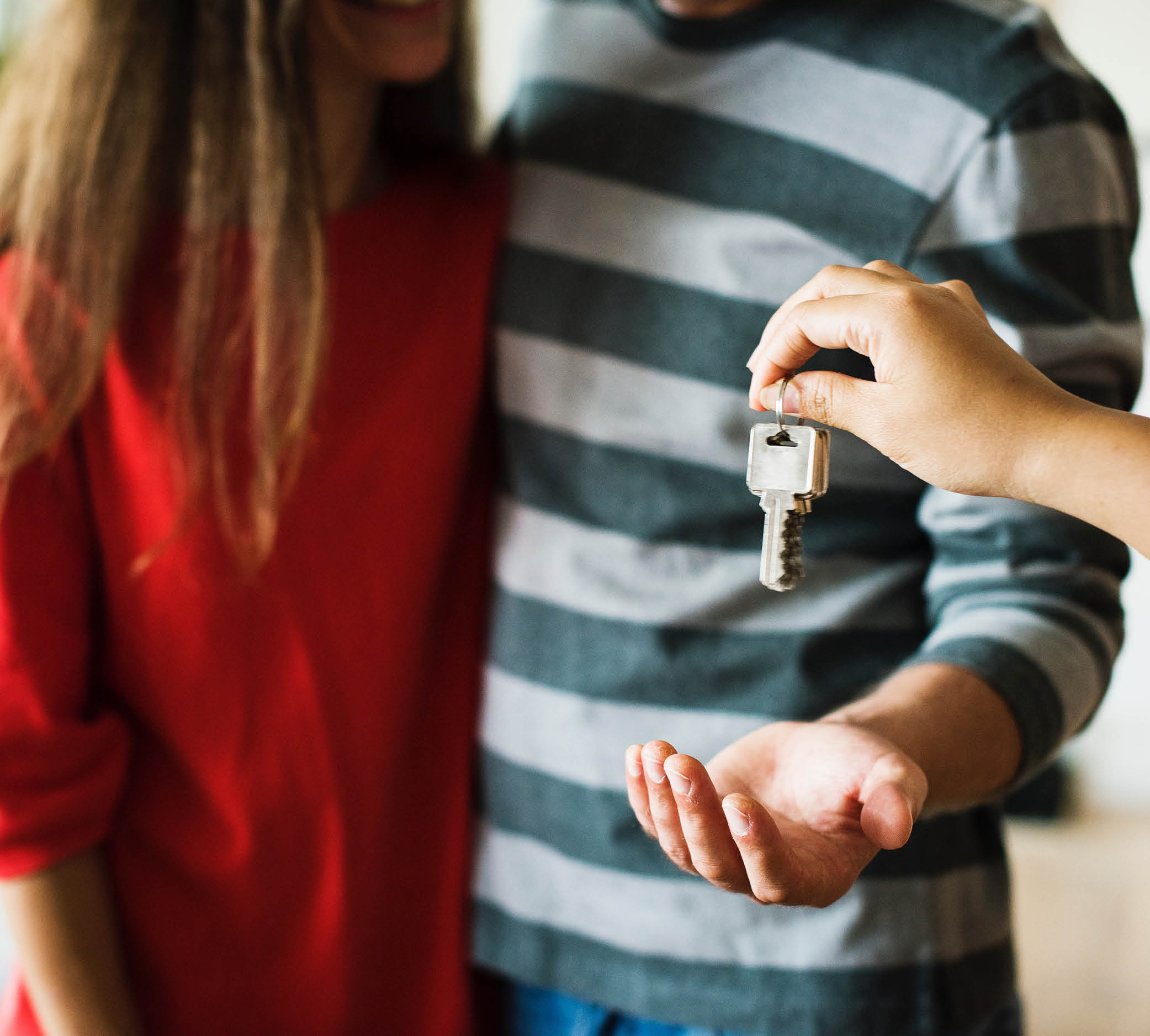 JMI couple receiving keys