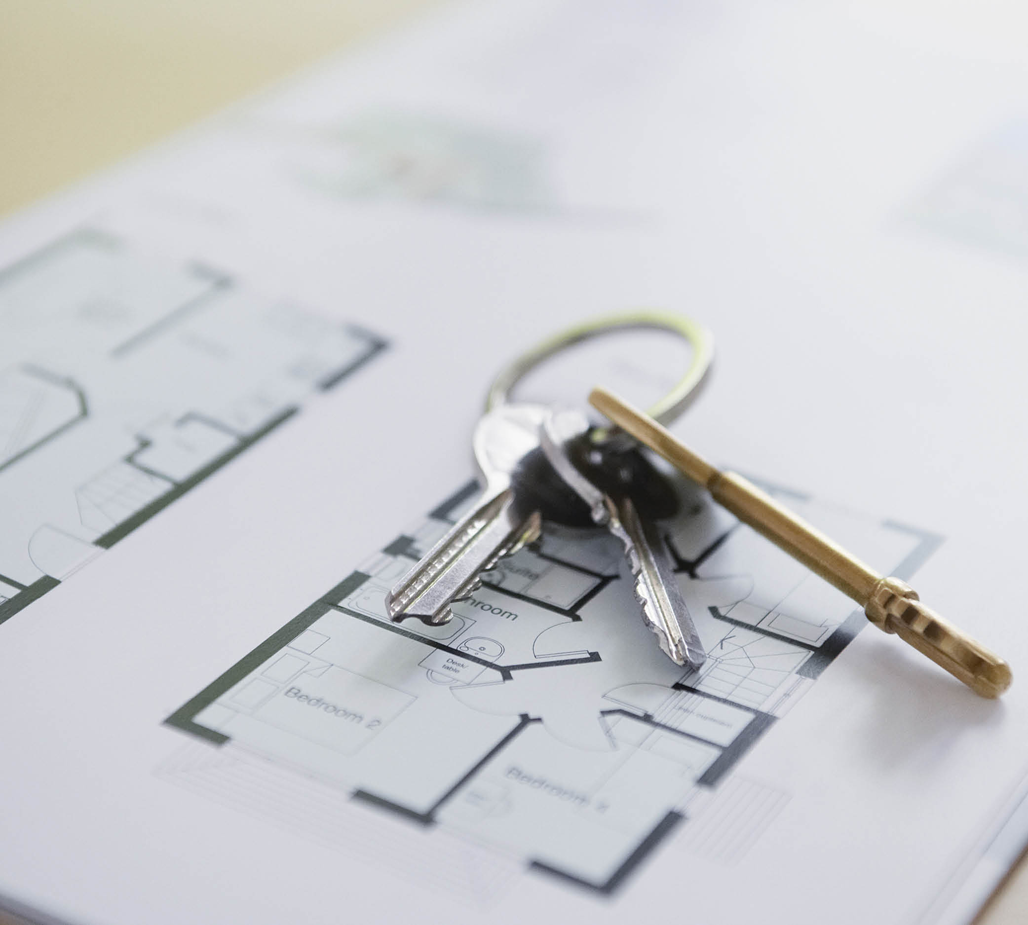 Keys on floorplans JMI