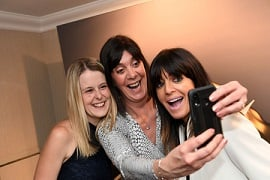 Customer care award Claudia Winkleman